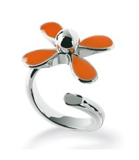 JRO004-9 Flowerlyric Orange Ring