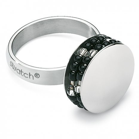 Swatch Bijoux Jonction Black Ring Anello