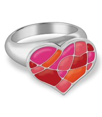 JRR028-7 Puzzle My Heart Ring