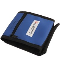 wallet5 Blue Neoprene Swatch Wallet 0mm