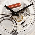 Skeleton Swatch Watch with White Dial Collezione Autunno / Inverno Swatch