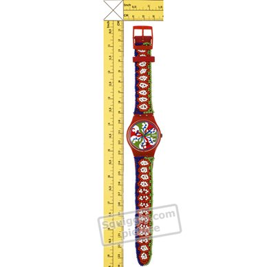 Swatch orologio rosso