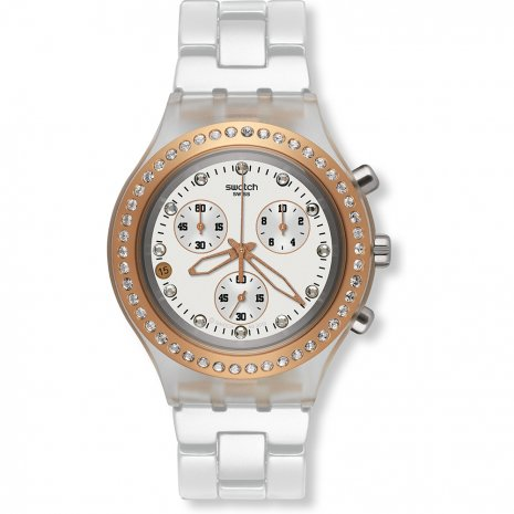 Swatch Full-Blooded Rose Gold orologio