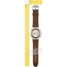 Swatch orologio marrone