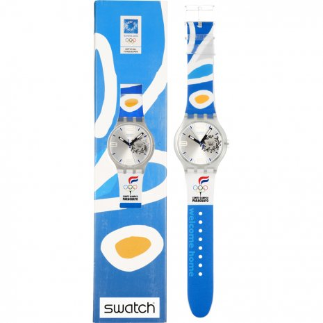 Swatch NOC Athens 2004 Paraguay orologio