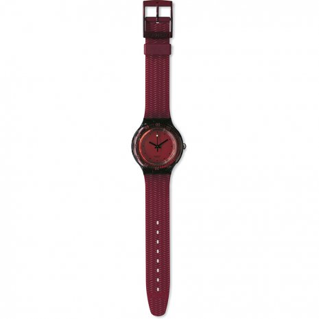Swatch Red Wood orologio