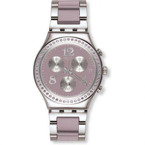 Swatch Secret Thought Beige Mauve orologio