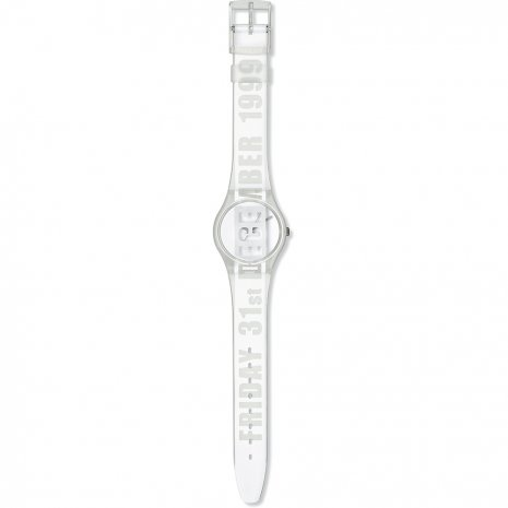 Swatch White Card orologio